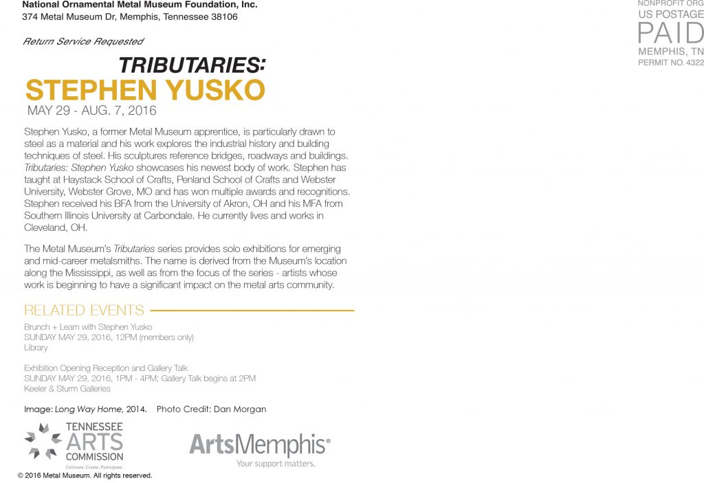 Tributaries Yusko Postcard_back revision